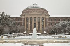 Southern Methodist University | The Most Winter Wonderful College Campuses