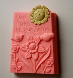 This Soap is so adorable. The Perfect gift to make someones day brighter and make that person feel special.    Fragrance descriptions: ( PS I Love You