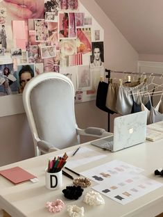 Welcome to my creative space by Dariia Day office where I design the pieces for our silk collection
