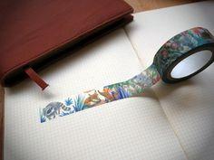 Washi Tapes, Paper Tape, Paradise, Illustration, Animals, Animales, Animaux, Illustrations, Animais