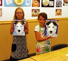 Michael's Olathe Ks Kids Acrylic Workshops - Joley Wiley Fine Art