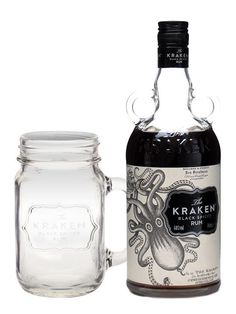 FREE GLASS! A dark spiced Caribbean rum introduced to the UK in Spring 2010, Kraken's old-style bottle and superlative packaging seem to earmark it out for greatness, and perhaps it will help some of those man...:
