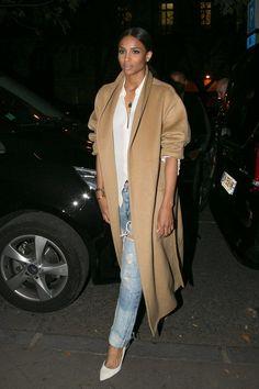 Ciara in Paris, September 2014   - HarpersBAZAAR.com