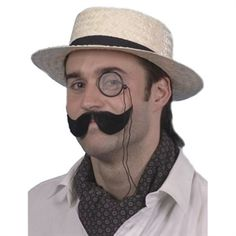 Stråhat til sommerfesten | God gammeldags stråhat til 20'er festen  #hat #hatte #temafest