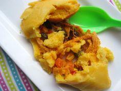 Hallacas Guajiras de Pollo (Chicken Hallacas)