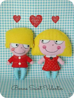 César et Lola St valentin
