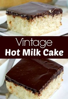 Hot Milk Cake is an easy yet delicious cake recipe. A sponge cake that is soft and tender that pairs perfectly with fruit, frosting or ganache. Delicious Cake Recipes, Yummy Cakes, Dessert Recipes, Hot Milk Cake, Hot Milk Sponge Cake Recipe, Vegan Blueberry, Blueberry Scones, Custard Cake, Food Cakes