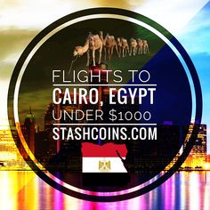 ✈️ Flight 🚨 Alert to Cairo, Egypt 🇪🇬 - Stash Coins & Travel Travel Alerts, Travel Careers, Cairo Egypt, Minneapolis, First Love, Coins, United States, Vacation, Coining