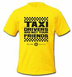 T-Shirt: Taxi Drivers