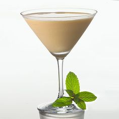 Baileys and peppermint schnapps