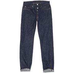 Warehouse Co. - Lot 900 Low / Mid Rise Slim Tapered Leg Jeans One Wash