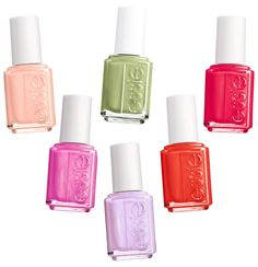 We love Essie's spring collection...