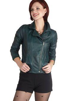 Driving Force Jacket, #ModCloth - I like her bob