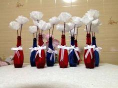 Como fazer Flor de papel de Seda para Decoração : Tutorial