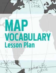 This geography lesson plan offers students three activities through which they can master the vocabulary of maps. In the age of GPS and iPhones, we seem to be losing access to paper maps-but kids still need to learn map skills Teaching Maps, Teaching Geography, Teaching History, Teaching Tools, Teaching Ideas, 4th Grade Social Studies, Social Studies Resources, Teaching Social Studies, Geography Lesson Plans