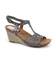 Michelle D Mattie Espadrille Wedges Grey Shoes, Dillards, Espadrilles, Wedges, Gray, Closet, Fashion, Gray Shoes, Espadrilles Outfit