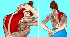 8 Stretches to Relieve Stiff Neck and Shoulder Tension Neck And Shoulder Stretches, Neck And Shoulder Pain, Neck Pain, Tense Shoulders, Tight Shoulders, Deep Breathing Exercises, Stretching Exercises, Flexibility Stretches, Yoga Breathing