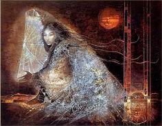 La mujer araña NA'ASHJÉ'II ASDZÁÁ