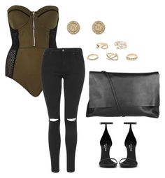 """Untitled #237"" by getdressedboston on Polyvore featuring River Island, Topshop, Arlington Milne and Yves Saint Laurent"