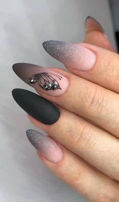 Halloween Acrylic Nails, Fall Acrylic Nails, Glitter Nail Art, Glitter Party, Acrylic Art, Bright Nail Designs, Acrylic Nail Designs, Nail Art Designs, Nails Design