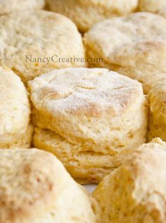 Sweet Potato Biscuits.. 1 1/4 c buttermilk 1 c mashed baked sweet potato, at room temp. 4 c self-rising  flour 1 T baking powder 1/8 t salt 1 c unsalted butter (2 sticks), cold & cut  small Mix potatoes & milk, mix dry ing with butter cut in.....combine both. Make disk & cut with round cutters. Bake @425 for 20min.
