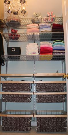 elfa pullout jewelry organizer in master walkin closet Closet