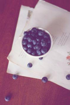 Good Things - Fine Art Photograph, Blueberry Still Life Photograph, Kitchen Art, Wall Decor, Blue