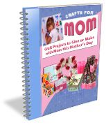 """""""Crafts for Mom: 30 Free Craft Projects for Mother's Day"""" eBook Thanksgiving Crafts For Kids, Easy Crafts For Kids, Craft Activities For Kids, Holiday Crafts, Kid Crafts, E Craft, Craft Projects, Craft Ideas, School Projects"""