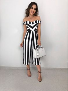Shop Sweetheart Neck Striped Casual Jumpsuit right now, get great deals at Joyshoetique. Shop Sweetheart Neck Striped Casual Jumpsuit right now, get great deals at Joyshoetique. Jumpsuit Pink, Jumpsuit Outfit, Casual Jumpsuit, Jumpsuit With Sleeves, Dressy Jumpsuit Wedding, Elegant Jumpsuit, Dress Formal, Wedding Dress, Spring Outfits