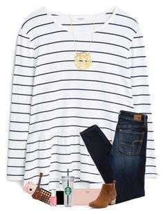 """""""Ugh Mondays :-("""" by sanddollars ❤ liked on Polyvore featuring MANGO, American Eagle Outfitters, Kate Spade, WALL, Morphe, Essie, Fujifilm and BaubleBar"""
