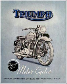 1946 Triumph | par bullittmcqueen