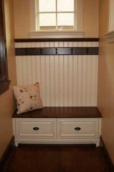 Painted And Glazzed Modern Entryway Bench Narrow Entrywy Under The Bench  Storage Flowery Pillow Of Modern