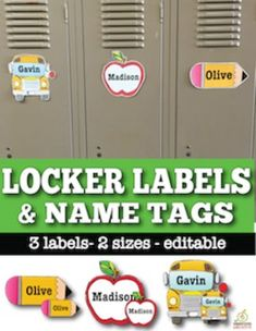 1000 ideas about locker name tags on pinterest student for Locker tag templates