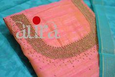 Salwar Pattern, Kurti Patterns, Hand Embroidery Dress, Cutwork Embroidery, Bridal Blouse Designs, Saree Blouse Designs, Embroidery Stitches Tutorial, Embroidery Patterns, Neck Patterns For Kurtis