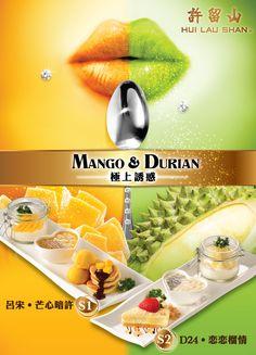 許留山 promoting mango and durian desserts *dies*