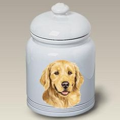 Golden Retriever Cookie Jar