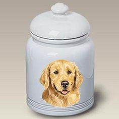 Golden Retriever Cookie Jar