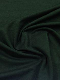 Stoffe : Viskosejersey dunkelgrün