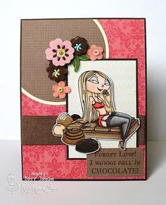 Kraftin' Kimmie Stamps Cocoa