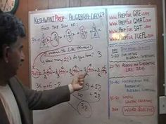 Algebra Help Day 27 - Prep Tutor via Skype - ACT, SAT, GRE, GMAT, TEAS, ...