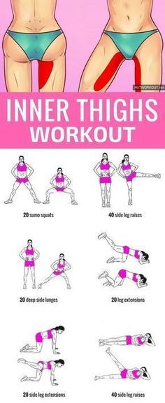 10 Minute Inner Thigh Workout To Try At Home