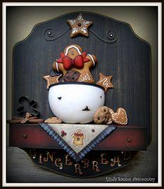 trabalho da Linda Santos em porcelana fria.