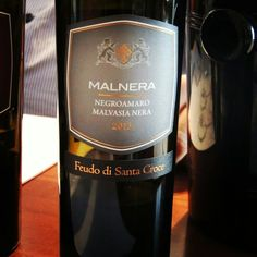 Malnera - Negroamaro e Malvasia Nera - Feudo di Santa Croce by Tinazzi  www.chavesoliveira.com.br / ( 11 ) 2155 0871