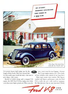 1937 Ford V8 Four Door Sedan