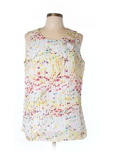 Check it out—Ann Taylor Sleeveless Blouse for $30.99 at thredUP!