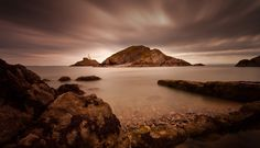 Mumbles lighthouse Swansea Bay - The iconic structure in Swansea Bay, the Mumbles lighthouse.