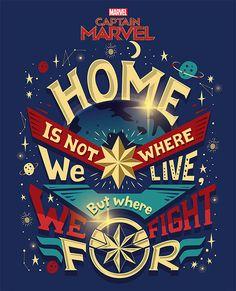 Captain Marvel Merchandise – Risa Rodil Marvel Art, Marvel Avengers, Marvel Comics, Marvel Quotes, Marvel Series, Captain Marvel, Captain America, Ghost Rider, Marvel Cinematic Universe
