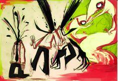 Elsen doodles by panicatomizer on DeviantArt