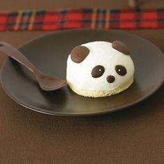 Panda cheesecake
