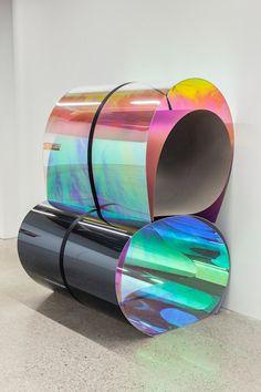 iridescent, foil, perspex, materials, colour, holographic